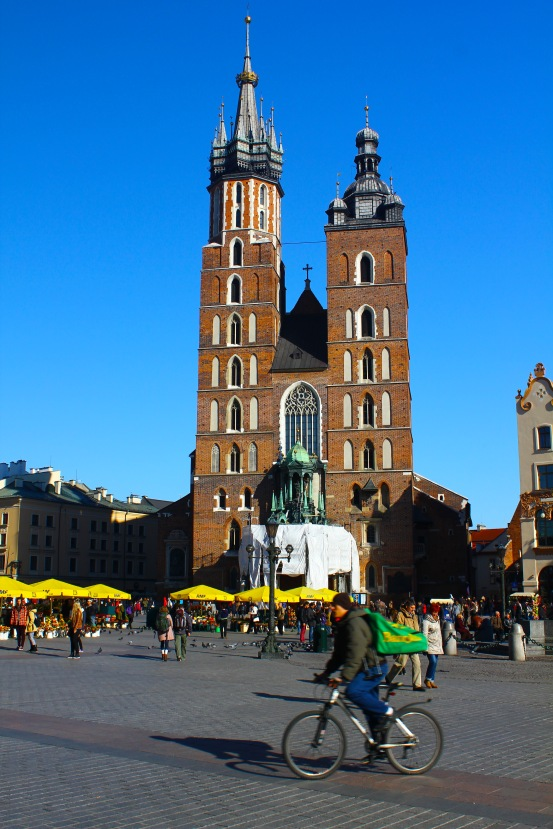 St. Mary's Basilica, Main Market Square