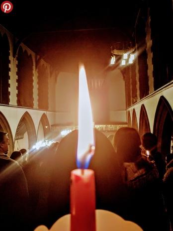 Candle pinterest