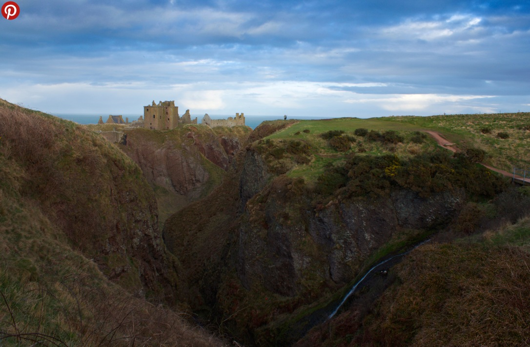 Dunnottar castle pint
