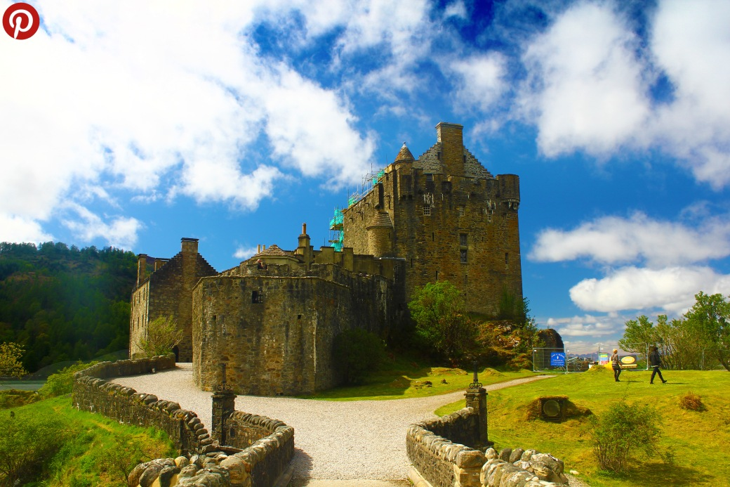 Eilean Donan Castle pinterest